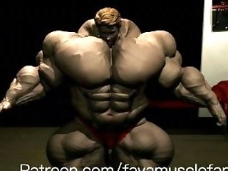 Muscle Growth: Posing Oil