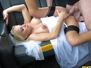 Beautiful Bride Takes A Faux Cab For A Hookup Venture