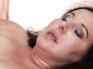 Pallid Chubby Whore With Curly Lengthy Hair Lila Tuft Gets Matures Cunt Fucked