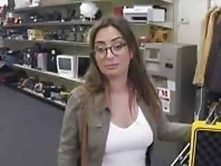 Woman With Glasses Pounded By Pawn Dude At The Pawnshop