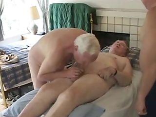Three Granpas Have Joy Sucking Older Boys Group