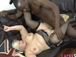 Granny Has Interracial Butt-pounding Hook-up