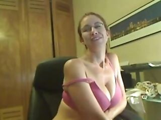 Hairy Cougar Has A Lot Of Joy On Webcam
