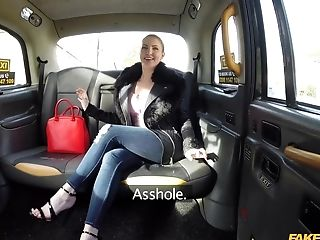 Blonde Scottish Beauty Georgie Lyall Lets A Cabbie Have His Way
