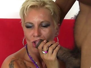 His Lengthy Black Jizz-shotgun Was All This Cutie Needed To Get Pleased