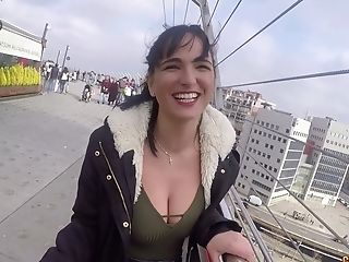 First-timer Big-titted Nubile From The Street - Pornography Clip