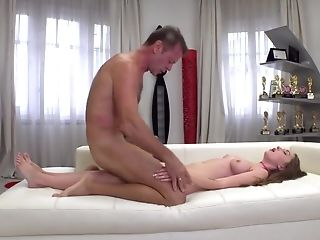 Rocco Siffredi Instructs Lena Reif The Hook-up Ropes Demonstrating Fresh Pose