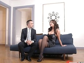 Anna Polina And Nikita Bellucci Taunt One Man And Get A Three-way