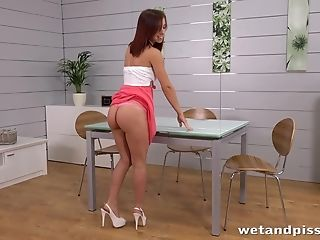 Awesome Nina Sunrise Likes To Please Her Cunt With Different Playthings