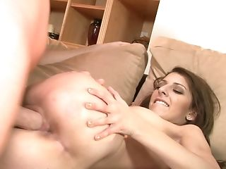 A Black-haired Opens Up Her Pubic Mound To Get Fucked Ritght