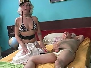 Nothing Makes Candy Monroe Blessed Like A Big Chocolate Manhood