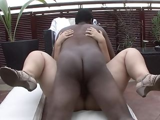 Chubby Matures Filmed In Hotwife Scenes Taking Big Black Cock In Her Crevices