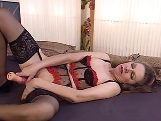 Horny Granny Gets Fucked - French Antique