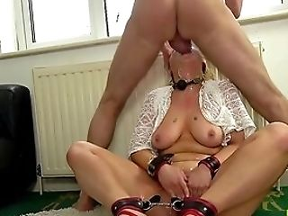 Obedient Blonde Gets Harshly Fucked In A Perverse Home Have Fun