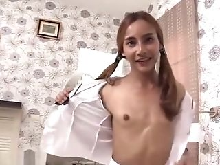 Little Tits Transgender Princess Rails A Humungous Chisel