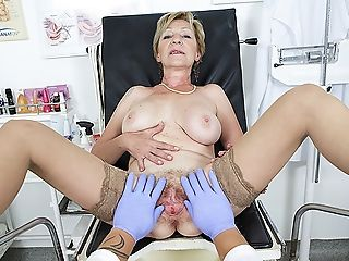 Hairy Grand-ma Fucked By Her Physician