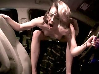 Leaned Over The Car All Naked Hoe Gets Poked From Behind Darn Superb