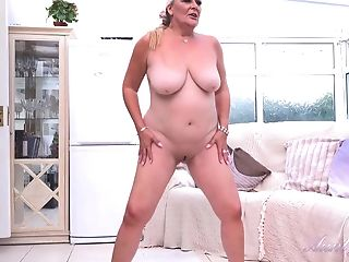 Granny Christina Is One Abominable Old Cockslut Solo Vid