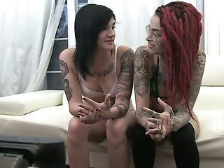 Perverted Too Tattooed Bitch Joanna Angel Is Indeed Good Poon Eater