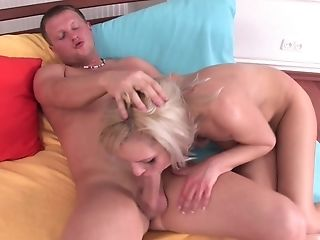 Brea Having Her Asshole Reamed After She Gives A Sexy Facefucking
