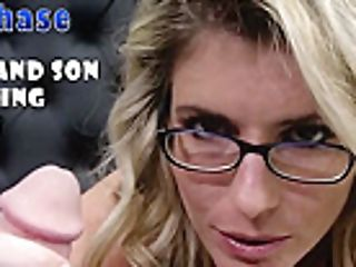 Cory Chase In Step Mom Gives Her Depressed Son-in-law A Oral Job And More