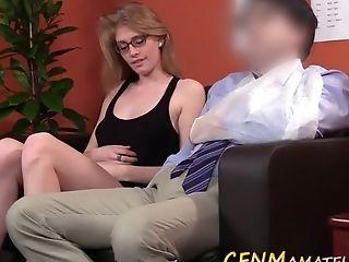 Cfnm Spex Breezy Sucking