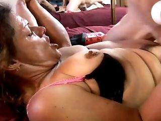 Pervy Old Spunker Loves Big Playthings & Goopy Facial Cumshot Money-shots