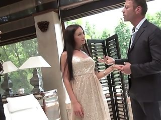 Sasha Rose Is Having A 3some With Rocco Siffredi And She Is Loving The Joy