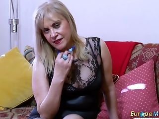 Hot Matures Blonde Is Finger-tickling And Then Playing With Bang-out Gear