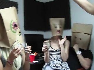 Joseline Kelly And Alexa Nova Share A Cum Shot At A Wild Orgy Hump Soiree