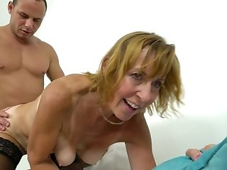 Drilling Her Matures Slit From Behind Has The Bitch Shrieking