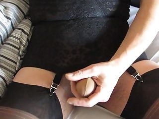Long hair secretary double blowjob feet