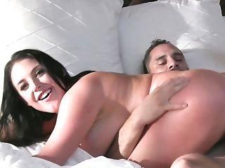 Spouse Fucks Gash Of Buxomy Angela Milky So Well And So Deep