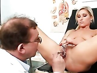 Gynecology Examination Is Hot With A Uber-cute Blonde