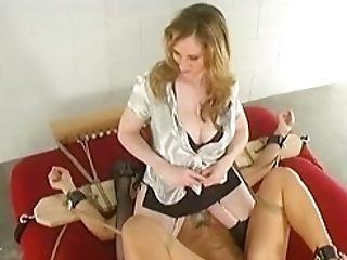 Extreme Lezzie Domination Restrain Bondage And Throning