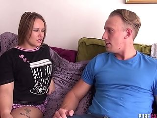 Bitch With A Immense Package Ashley Rider Goes Wild On A Hard Penis