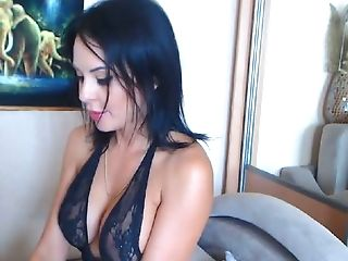 Fantastic Webcam Honey With Sugary-sweet Big Knockers Uses A Fuck Stick For Her Solo Demonstrate