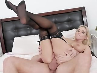 Christie Stevens Is The Whorey Stepmom Of His Fantasies