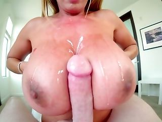 Light Haired Canadian Kianna Dior Has Good Melons For Awesome Titfuck