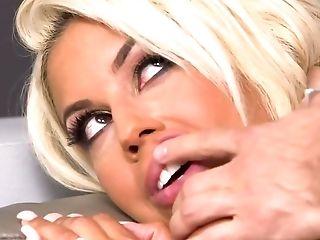 Off The Hook Blonde Damsel Lets Her Stud Fuck Her Hard