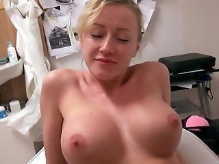 Blonde Woman From Czech Earns Good Money In First-timer Porno Flick