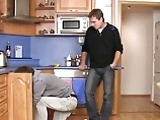 Plumber Turns Into Homosexual Fuckslut Boy