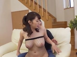 Takarada Monami Adores When Her Friend Jizz On Her Tits After A Tit-banging