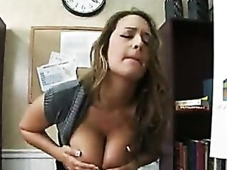 Tart With Tits Out Of Her Sweater Fucked Hard