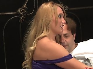 Playing With A Lengthy Rod Makes Aj Applegate More Satisfied Than Anything