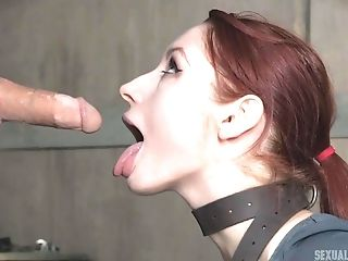 Violet Monroe Gets Her Nose Plugged Up While Force Fed Stiffy