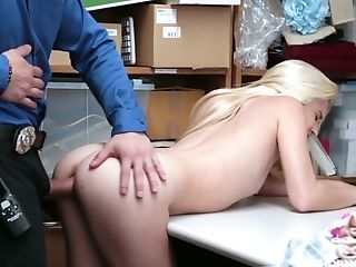 Yummy Blonde Riley Starlet Is Fucked By One Deviant Dude In The Back Room