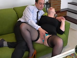Buxom Chick Silana Doesn't Need More Than A Dick To Get Pleased
