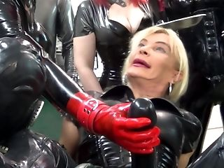 Mistress transvestite rubber