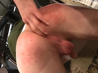 Teenager Homosexual Dudes In A Xxx Sucking And Fucking Session In A Garage